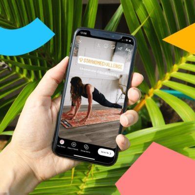 Histoires de défi Instagram